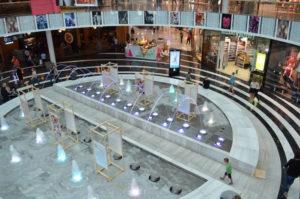 Mall of Scandinavia Wasserspiele