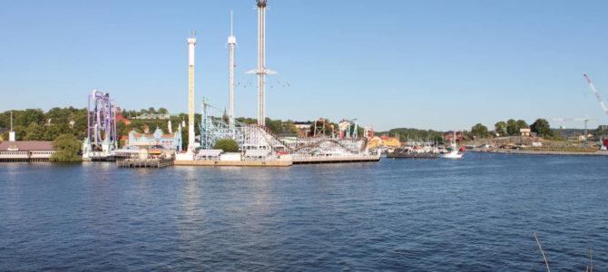 Gröna Lund (Tivoli)- der Freizeitpark im Herzen Stockholms