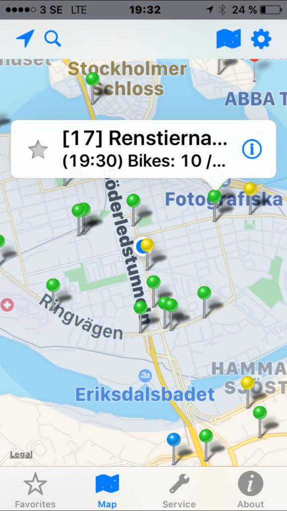 Citybikes App 2