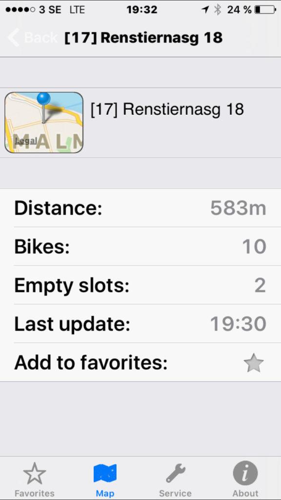 Citybikes App 3