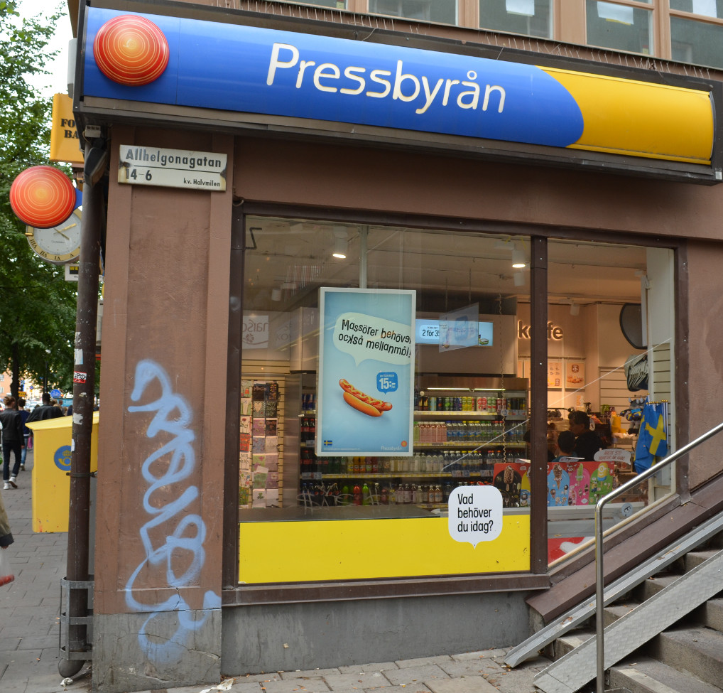 Pressbyran Shop